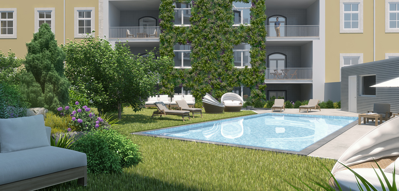 Pool<br>& Garden