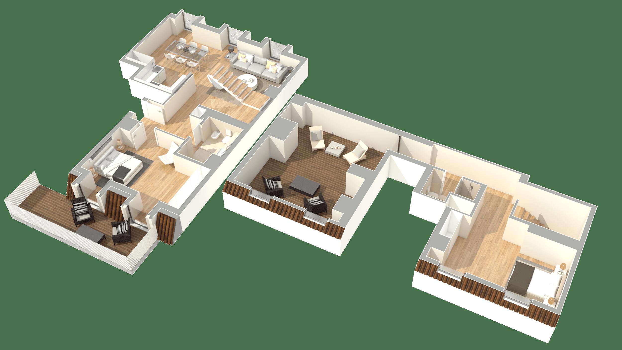 T2 Duplex – Fracção AK