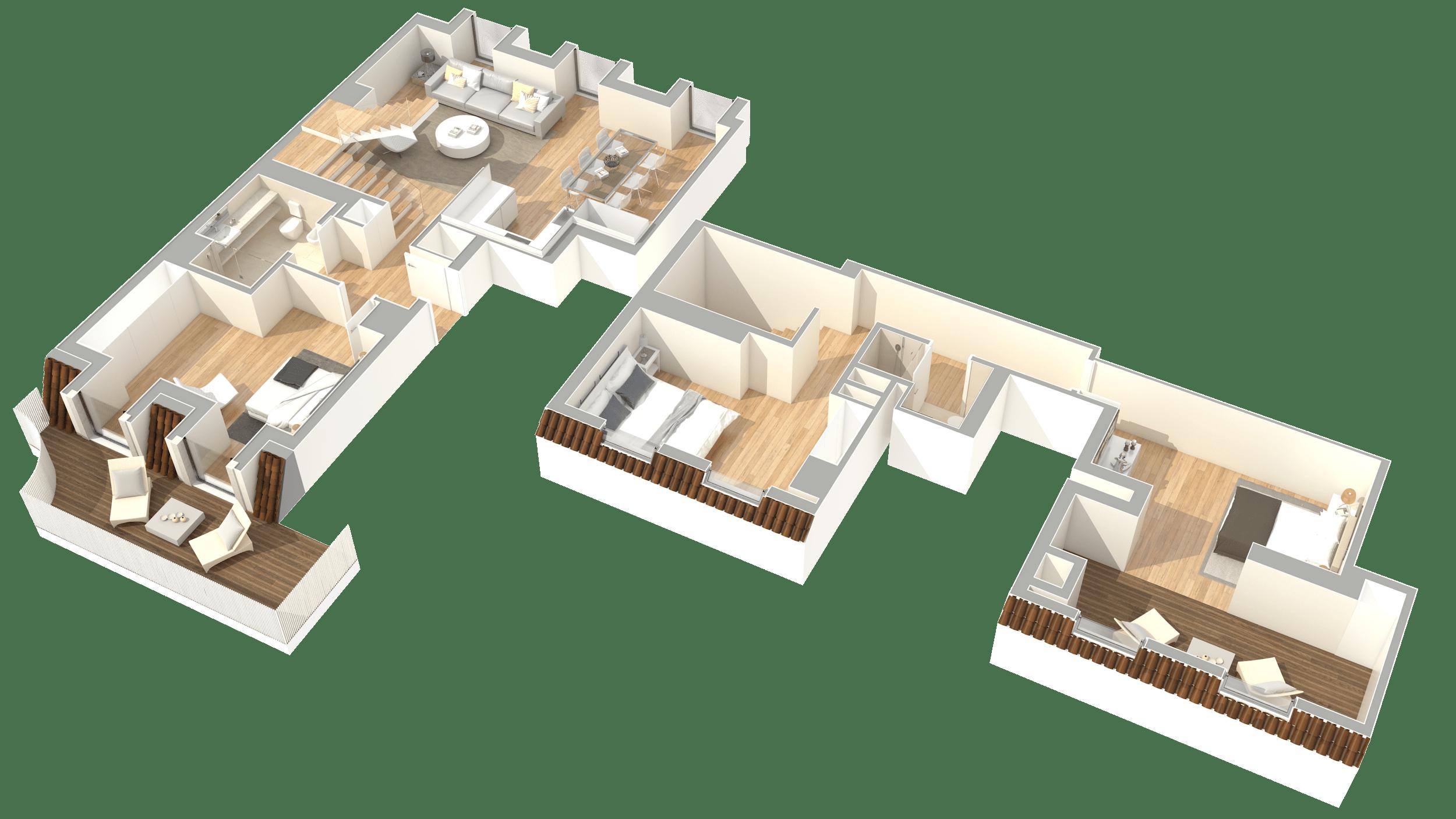 T3 Duplex – Fracção AN