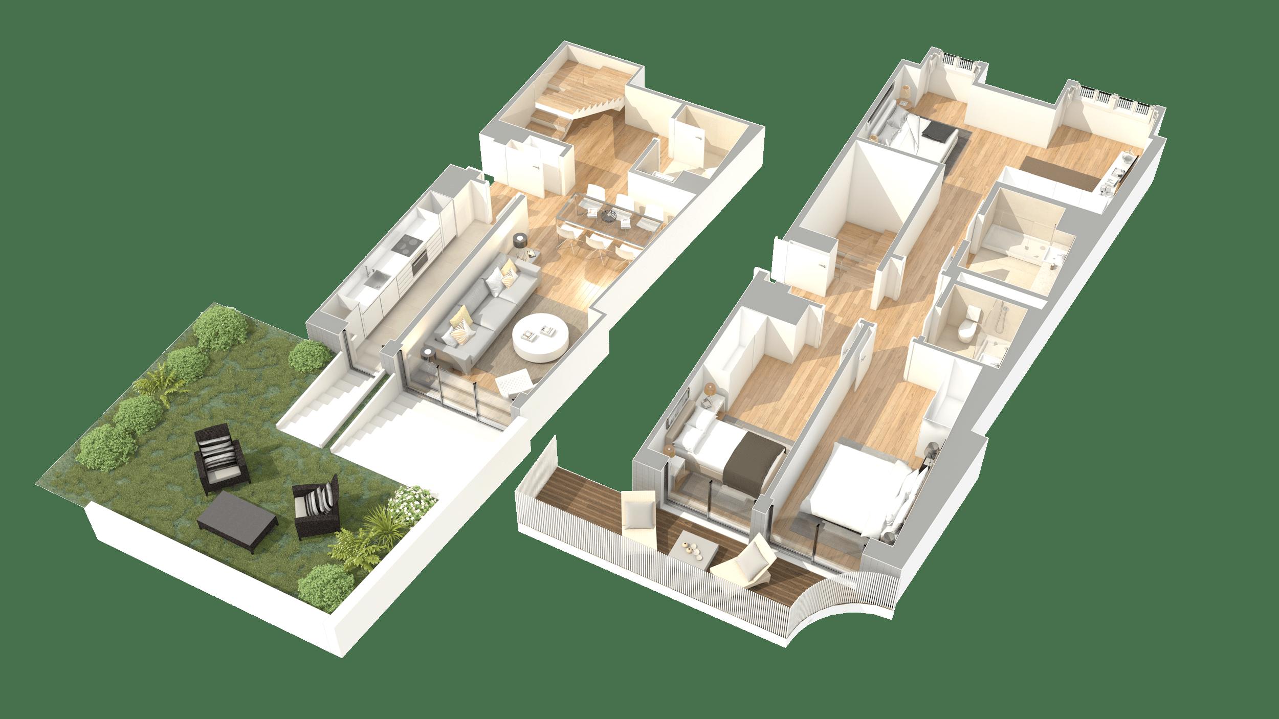 T3 Duplex – Fracção E
