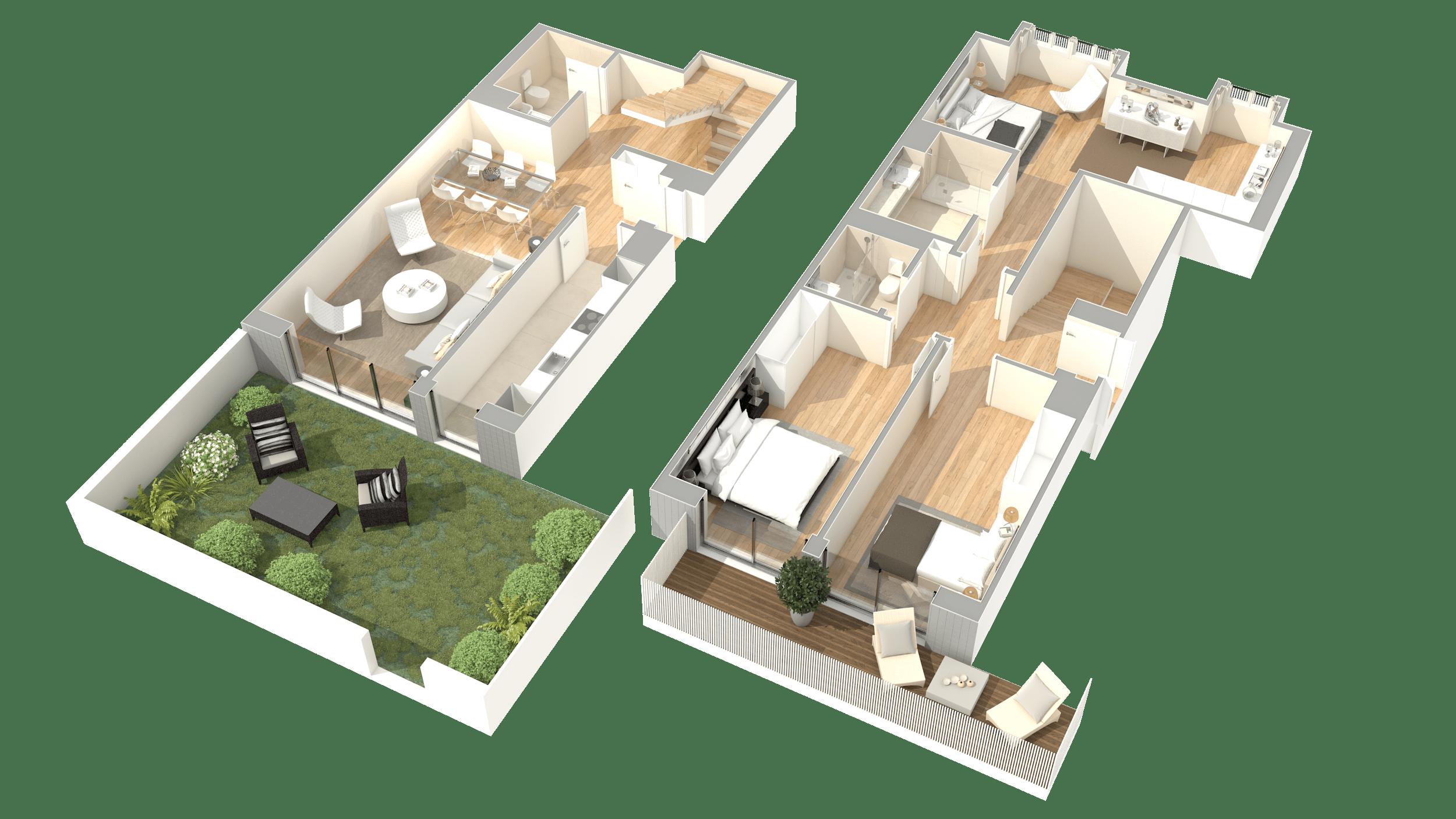 T3 Duplex – Fracção H