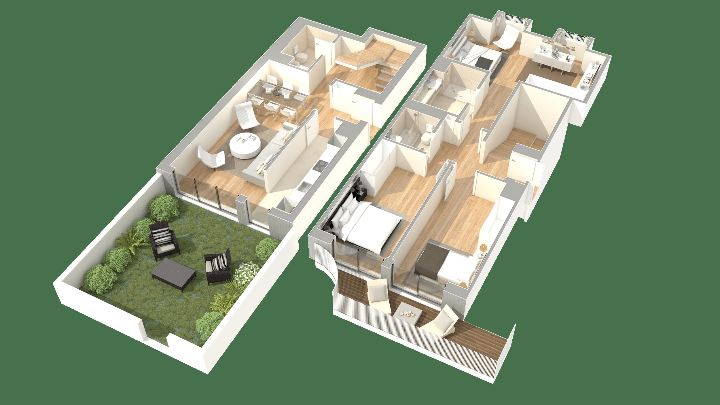 T3 Duplex – Fracção J